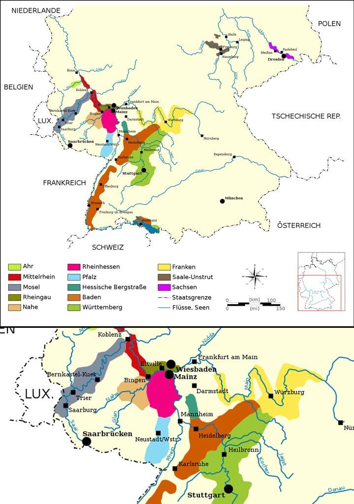 Kleine Geschichte des Reb- und Weinbaus in Deutschland